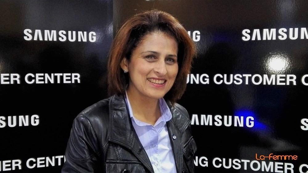 Faten Hachicha, Directrice de la Communication et des Events pour le Groupe Hachicha qui comprend (entre autres) au niveau du Pool de l'électroménager ; 3 Stars et Electrostars