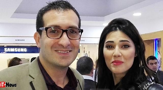 azer Jaafoura & Maraam Ben Aziza, Ambassadrice Samsung