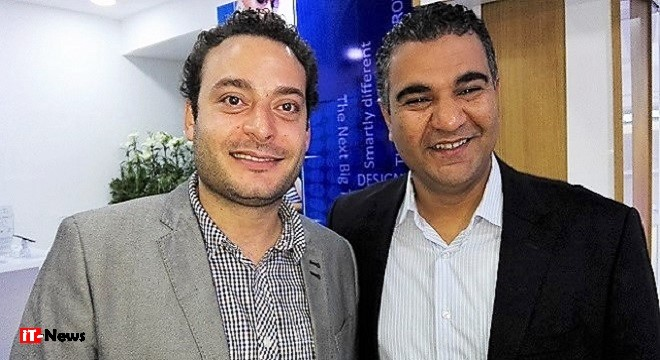 Mahmoud Sakkat (Samsung Tunisie) & Mohamed Kamel Ben Hmiden, Marketing manager 3stars