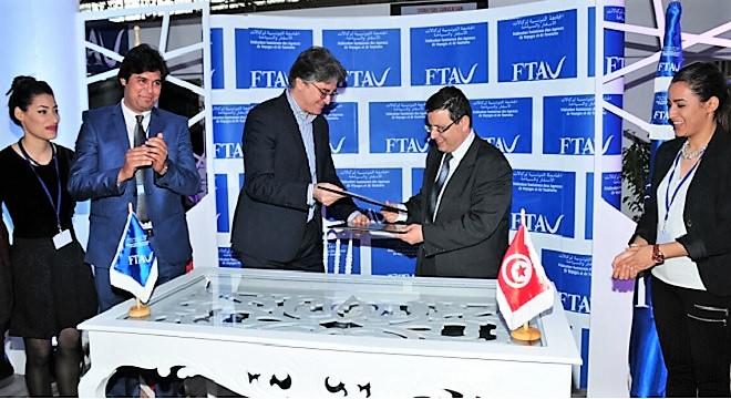 - La-FTAV-signe-3-conventions-de-partenariat-avec-l'ESC-Amadeus-et-Ooredoo-agences-de-voyages-2