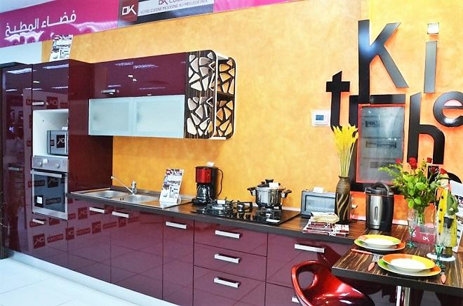 La marque ok cuisines distribu e aux points de ventes for Agencement cuisine tunisie