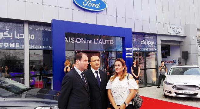 - Alpha-Ford-inaugure-une-nouvelle-agence-à-la-Charguia-0
