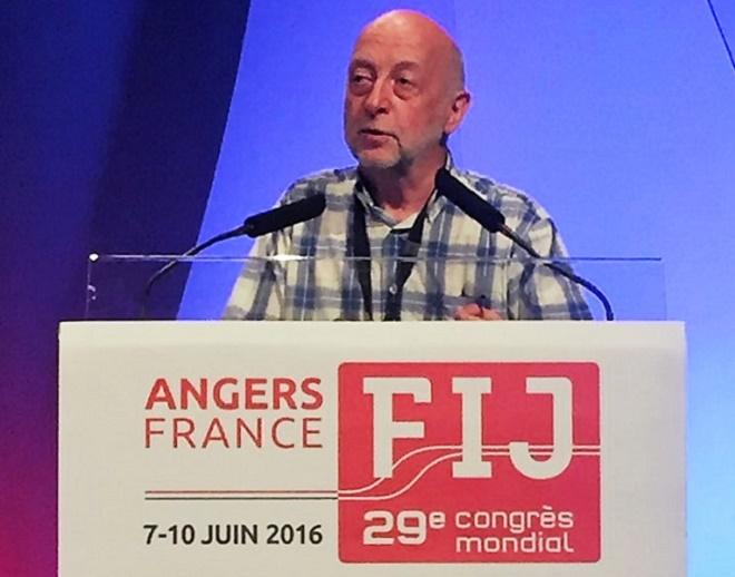 Philippe Le RUTH (Belgique) Nouveau Président de la FIJ