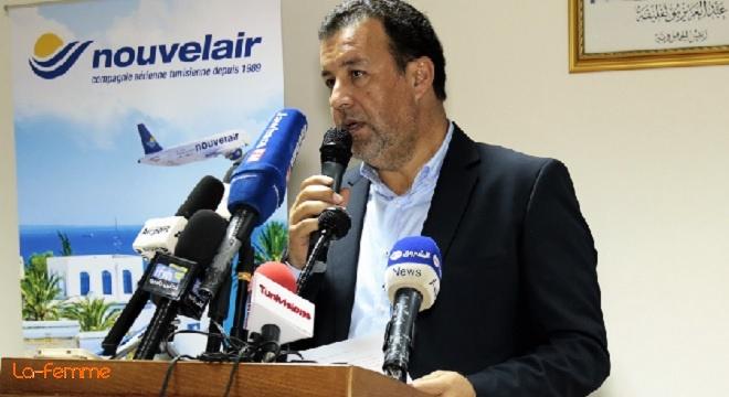 - Alger-Le-vol-inaugural-Tunis-Alger-de-Nouvelair-fêté-en-grande-pompe-à-l'Aéroport-Houari-Boumediene-FFFF