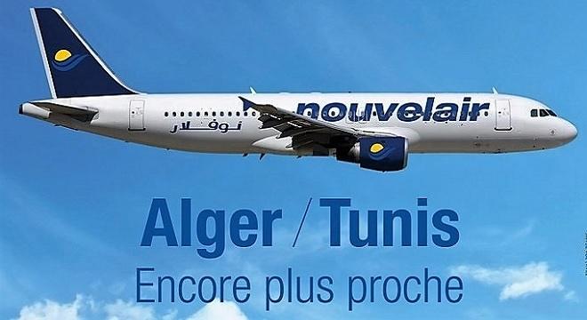 - Alger-Le-vol-inaugural-Tunis-Alger-de-Nouvelair-fêté-en-grande-pompe-à-l'Aéroport-Houari-Boumediene-xx