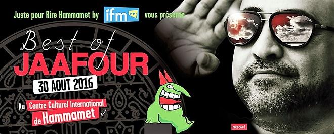 - Programmation-du-festival-Juste-pour rire-Hammamet-Jaaner-Gasmi-