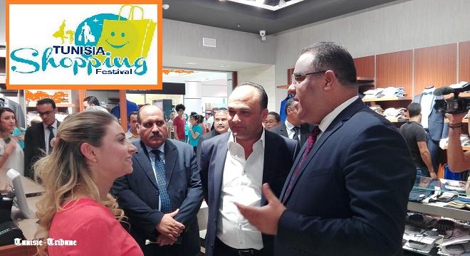 - Tunisia-Mall-Mohsen-Hassen-donne-le-coup-d'envoi-du-Tunisia-Shopping-Festival-Soldes-d'été