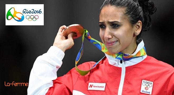 JO-2016   Inès Boubakri décroche une médaille de bronze historique pour. f8dac73f3ad1