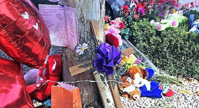 Memorial pour Victoria Martens, cette fille de 10 ans qui a été droguée, violée, étranglée et démembrer le jour de son anniversaire