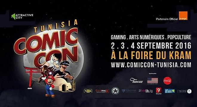 - Comic-Con-Tunisia-salon-de-la-Bande-Dessinée-des-Arts-Numériques-Jeux-Vidéo-et-Pop-Culture