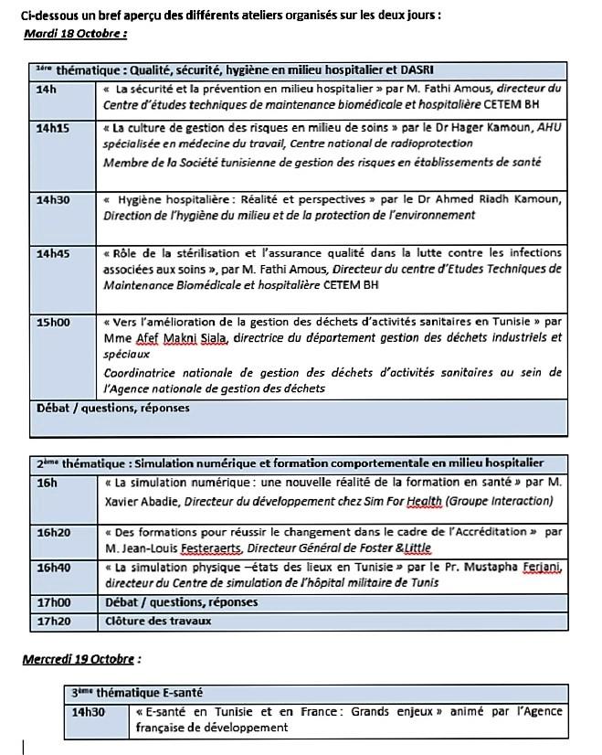 forum-sante-france-tunisie-bref-apercu-des-differents-ateliers-organises-sur-les-deux-jours