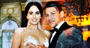 Youssef Msakni vient de convoler en justes noces avec sa belle princesse « Amira » (Photos + Vidéos)
