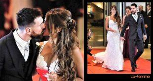 Lionel Messi et la sublime Antonella Roccuzzo se sont mariés parmi 260 invités, 350 agents de sécurité et 157 photographes