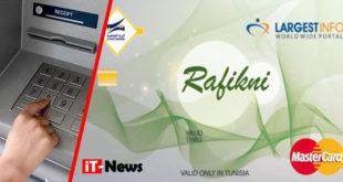 """""""Rafikni"""", une carte de paiement électronique pour les Algériens, lancée par la Poste Tunisienne et """"Largest Info"""""""