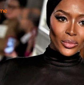 Fashion Week de Paris   Valentino sublime la 3ème journée via sa Naomi  Campbell seins nus… dans une longue robe noire c63df841fc49
