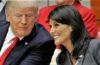 S.E. Nikki Haley, Ambassadrice des États-Unis à l'ONU, dément une liaison avec Donald Trump